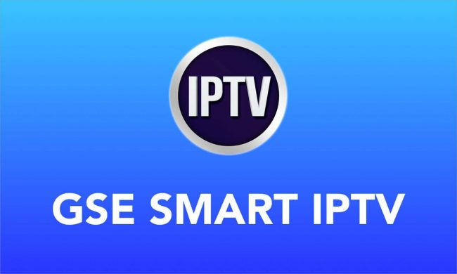 GSE Smart IPTV on IOS